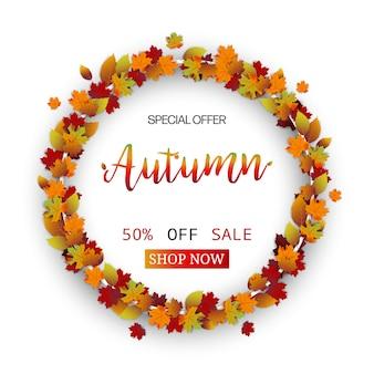 Festival de folhas de outono