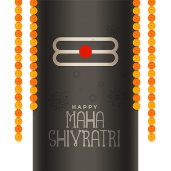 Festival de fundo do evento maha shivratri