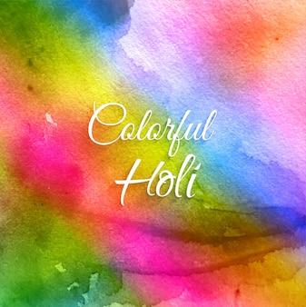 Festival indiano feliz holi celebração fundo
