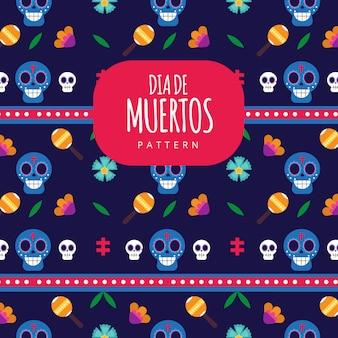 Festival mexicano tradicional dia de muertos