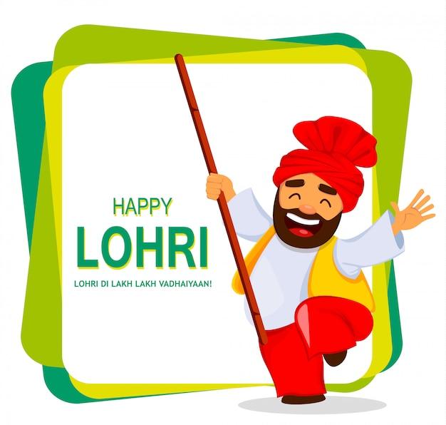 Festival popular de inverno punjabi popular lohri