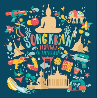 Festival songkran