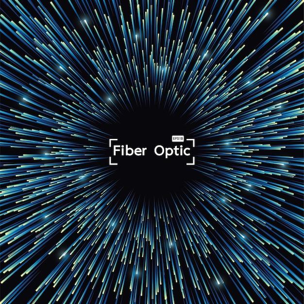 Fibra óptica, de, glowing, fundos, internet, comunicação