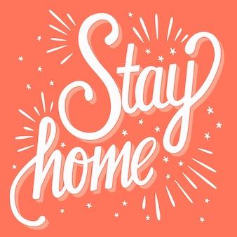 Ficar em casa mão letras
