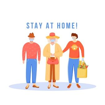 Ficar em casa