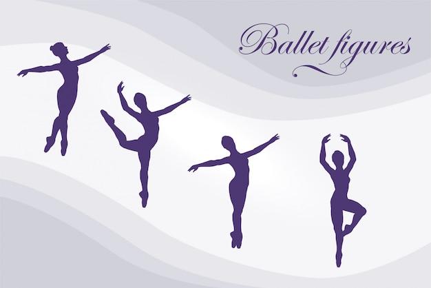 Figuras de balé