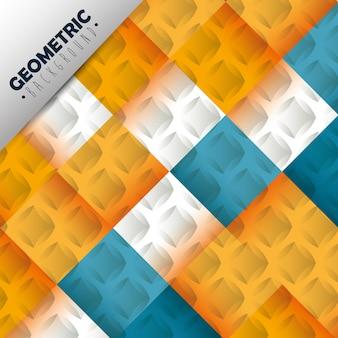Figuras geometrics e cores de fundo
