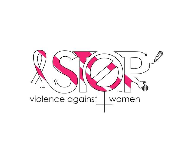 Fim da violência contra as mulheres no dia internacional pela eliminação da violência contra as mulheres