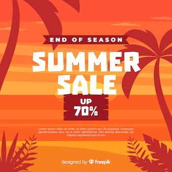 Fim do fundo de vendas de verão