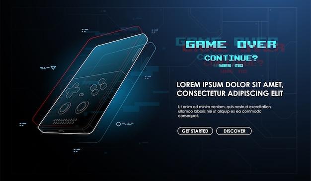 Fim do jogo em console portátil