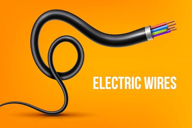 Fios de cobre elétricos flexíveis