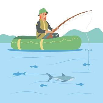 Fisher em flutuação