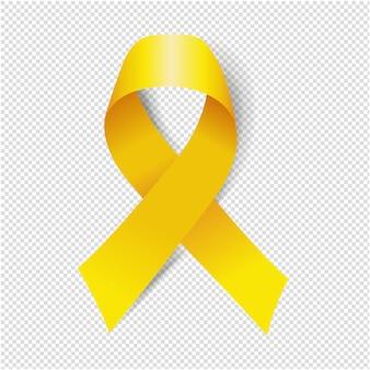 Fita amarela fundo transparente