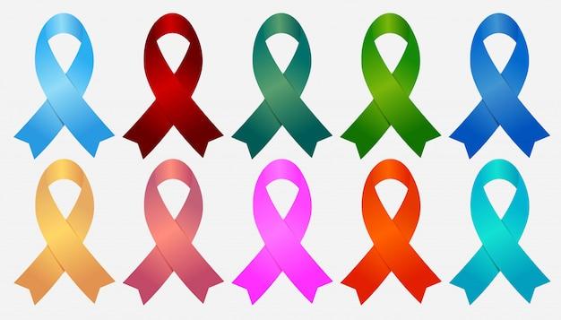 Fita de sida, conjunto de elementos de fita