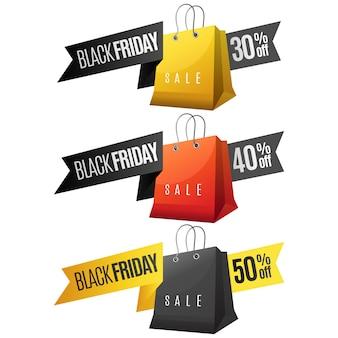 Fita de venda sexta-feira negra