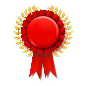 Fita vermelha do prêmio