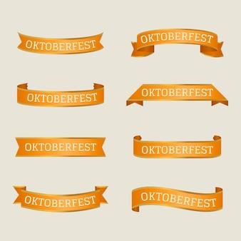 Fitas de festival plana oktoberfest