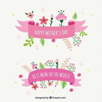 Fitas do dia das mães bonito