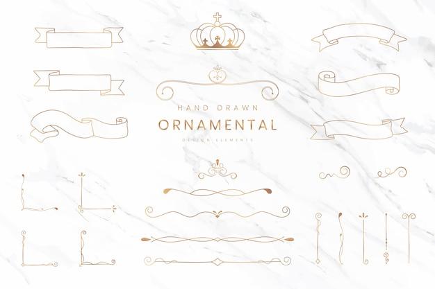 Fitas e divisórias ornamentais