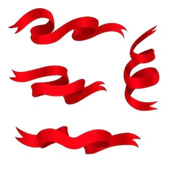 Fitas vermelhas