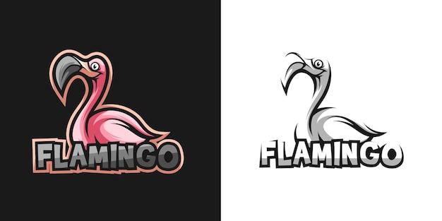 Flamingo mascot design