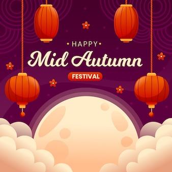 Flat festival de meados do outono
