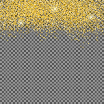 Flocos de neve brilhantes caindo e neve em fundo transparente. plano de fundo natal, inverno e ano novo. ilustração vetorial realista para seu projeto