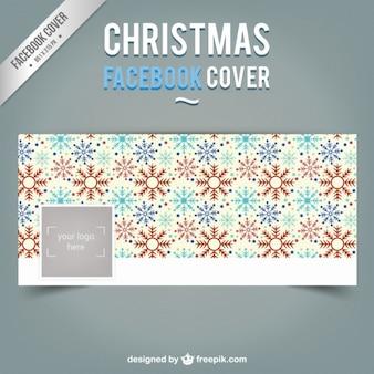 Flocos de neve facebook capa