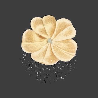 Flor amarela do botão de ouro de perto