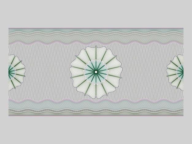 Flor curvo linha vector art