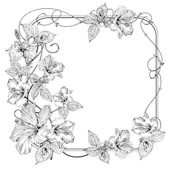 Flor de clematis.
