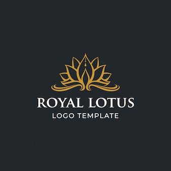 Flor de lótus de luxo