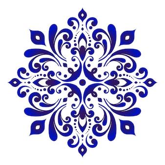 Flor de porcelana