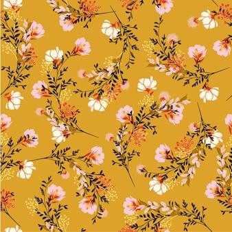 Flor floral padrão