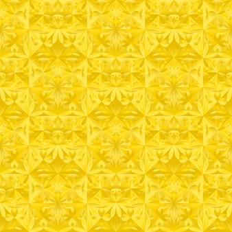 Flor geométrica sem costura triângulo de fundo