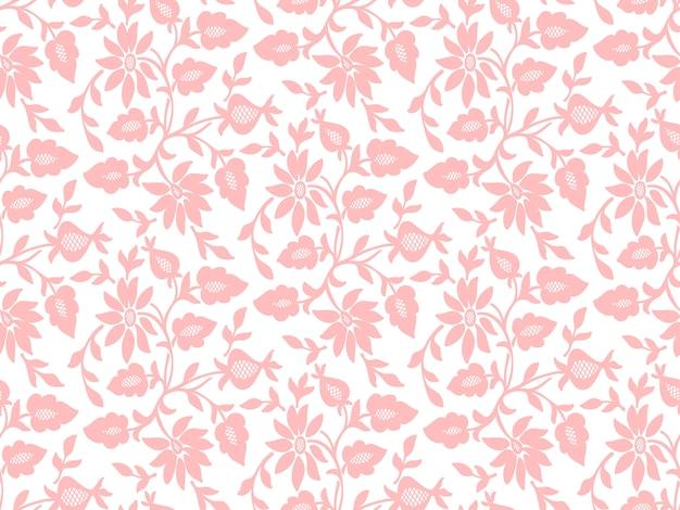 Flor sem costura de fundo. textura elegante para fundos.