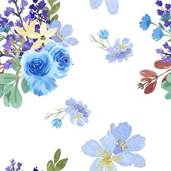 Floral sem costura padrão