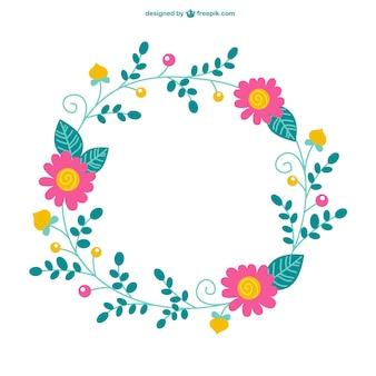 Floral vetor elemento gráfico