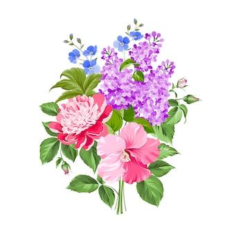 Flores da primavera.