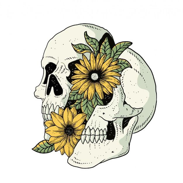 Flores de caveira