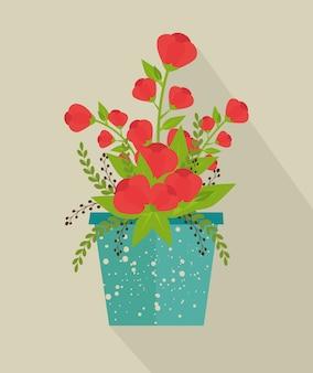 Flores e design floral.