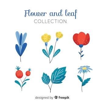 Flores e folhas collectio