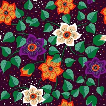 Flores férias da moda verão tropical