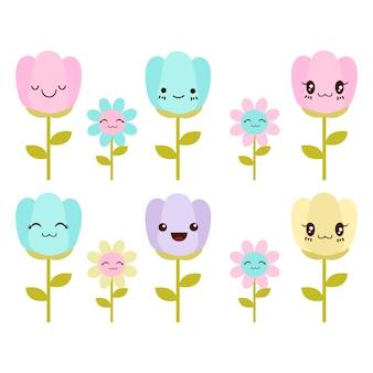 Flores fofos