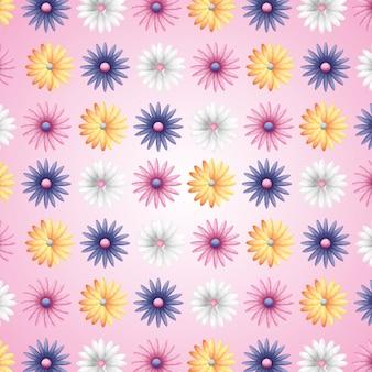 Flores, primavera, fundo
