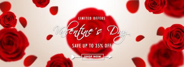 Flores rosas realistas no fundo brilhante
