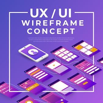 Fluxograma da interface do usuário do ux