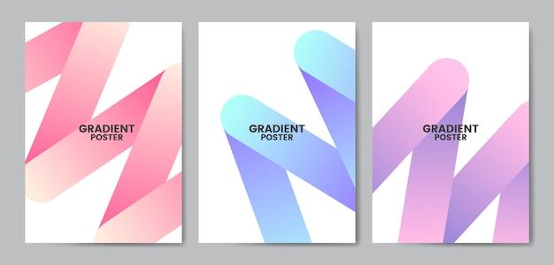 Flyer colorido modelo de design ilustração