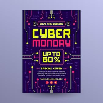 Flyer da cyber monday
