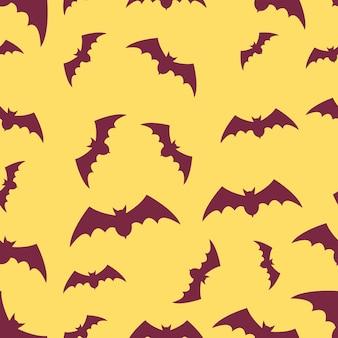 Flyer de conjunto de design de halloween